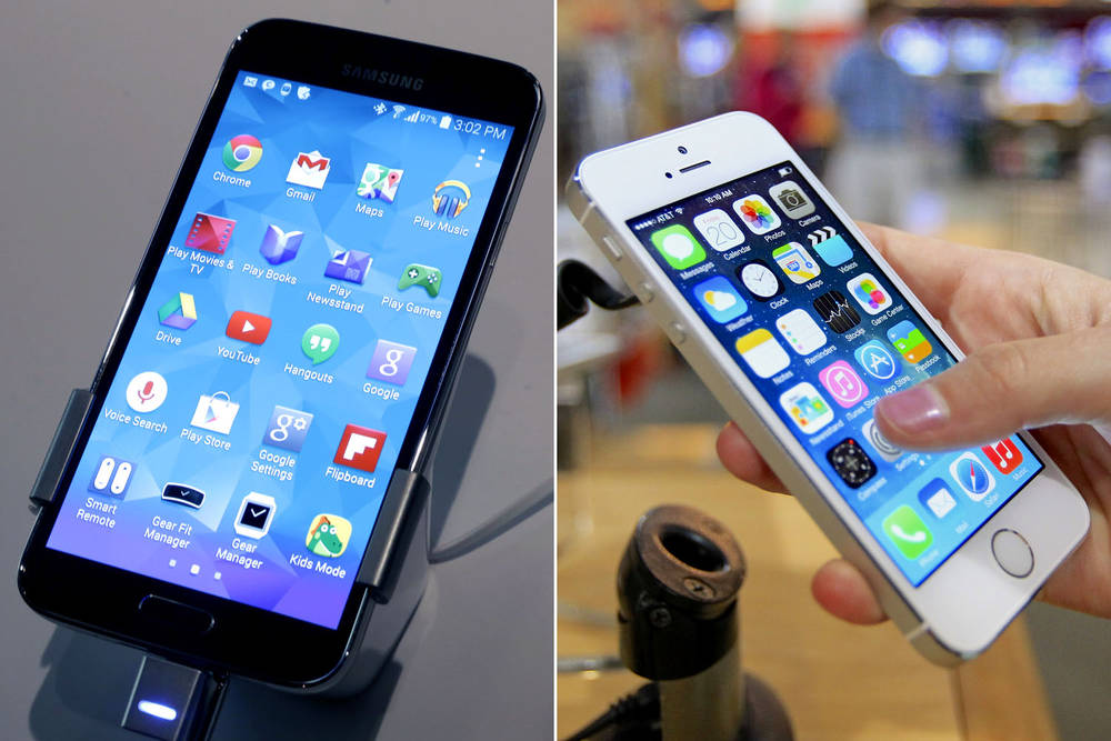 Galaxy-S5-fingerprint-vs-iPhone-5S-Touch-ID