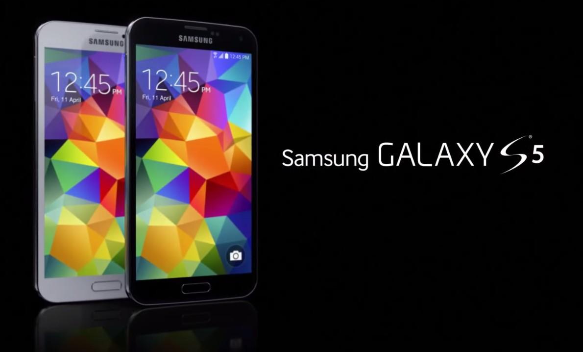 découvrez les applications du galaxy s5