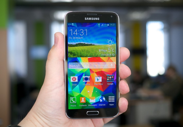 galaxy s5 super ecran