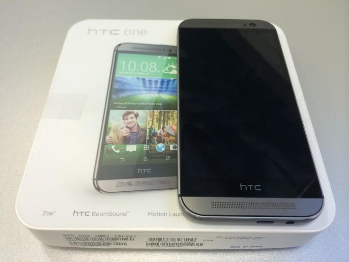 récapitulatif de la présentation du HTC One M8