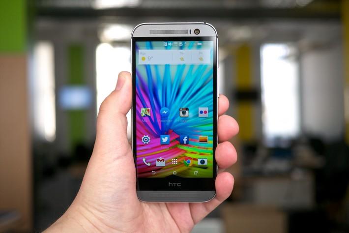 benchmark du HTC One M8 face à la concurrence