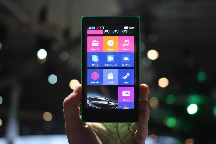 Nokia x test de l 39 cran et benchmark phonandroid for Test ecran photo