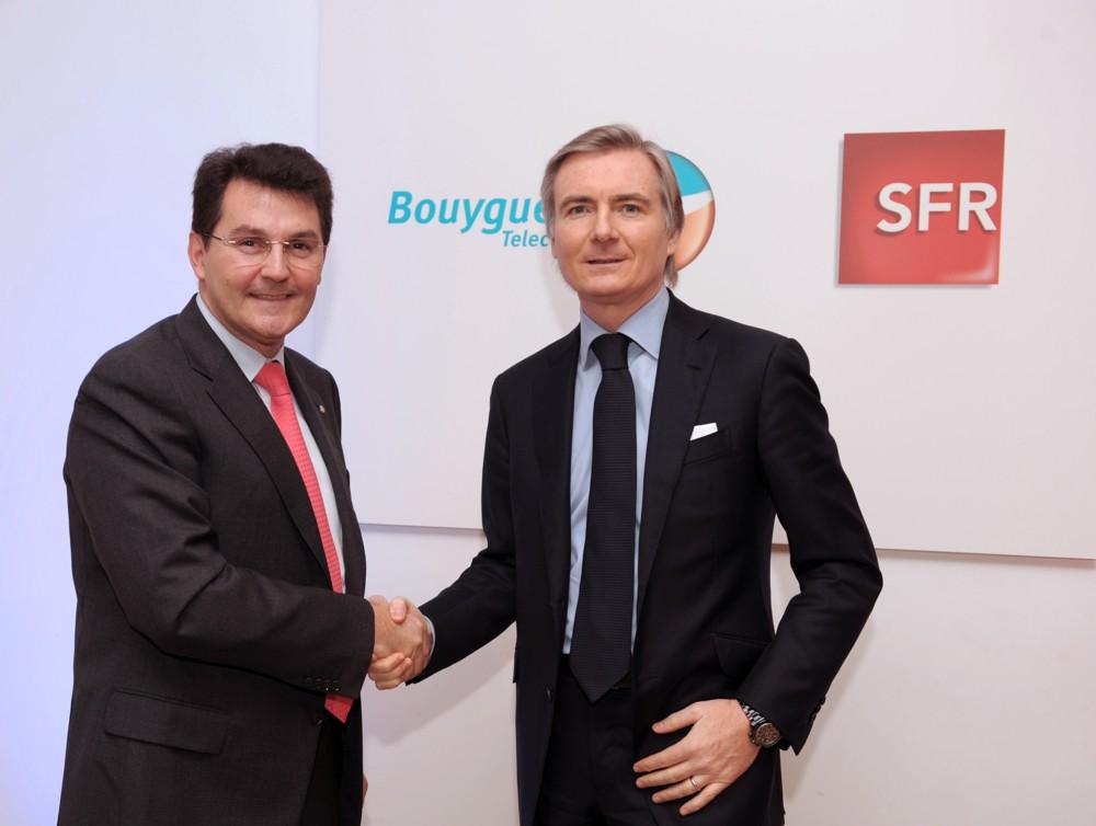Blocage du partage entre Bouygues et SFR par Orange