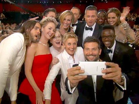 Ellen Degeneres et sa photo des Oscars
