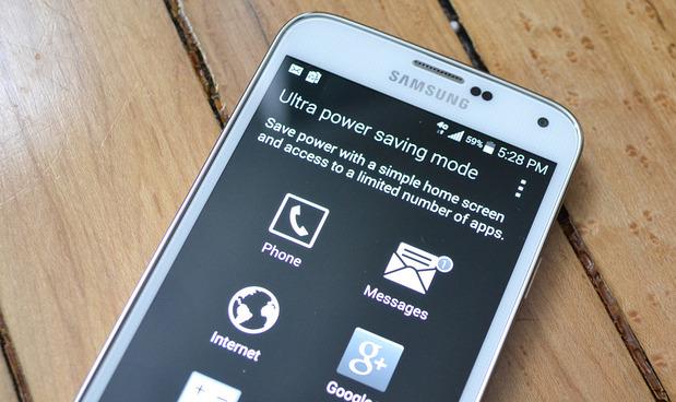 Galaxy S5, ultra saving mode