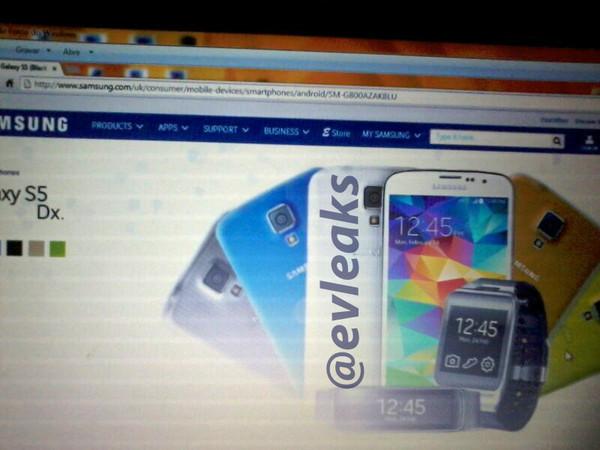 Galaxy S5 mini, première photo