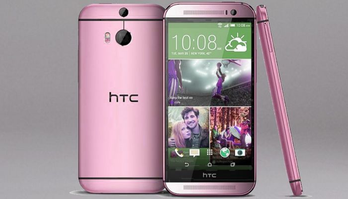 HTC One M8 en rose
