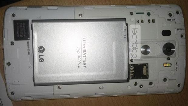 LG G3, batterie