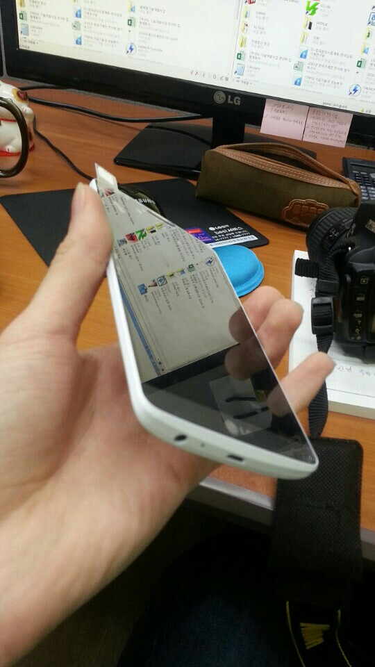 Le LG G3 blanc