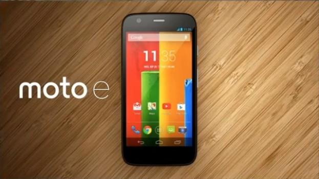 Moto E, le smartphone