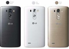 nouvelles photos du lg g3 en blanc et en gold et de ses accessoires