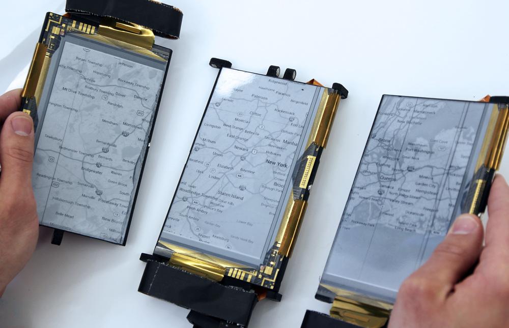 Paperfold a des écrans détachables