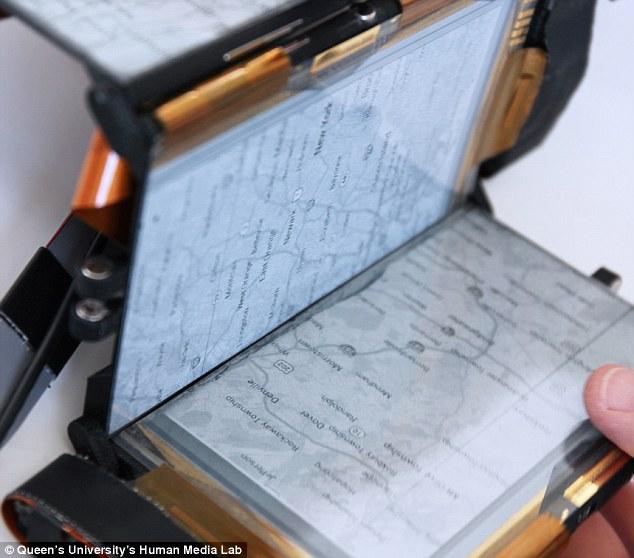 Paperfold en mode netbook