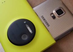 samsung galaxy s5 vs nokia lumia 1020 comparatif capteurs photo
