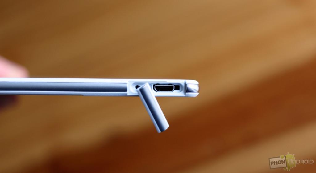 Sony Xperia Z3 et les connectiques possibles