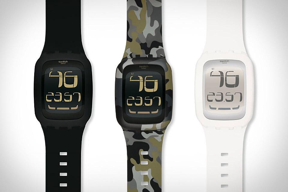 Swatch vs Apple Watch