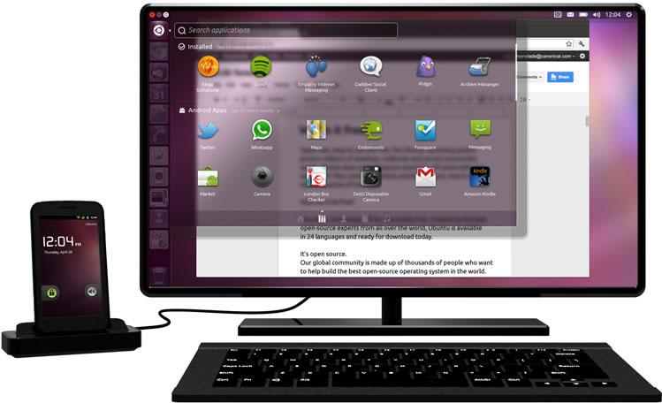 Ubuntu pour Android