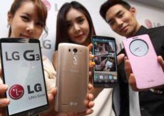 un benchmark du lg g3 revele un processeur snapdragon 801 a 2 5 ghz