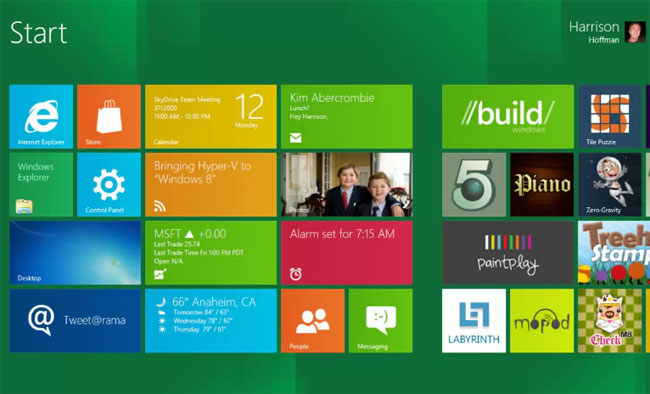 Windows 8, la suite