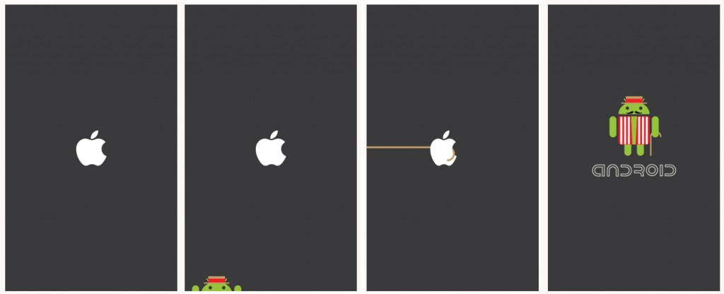 Apple-Android-Boot-Logo