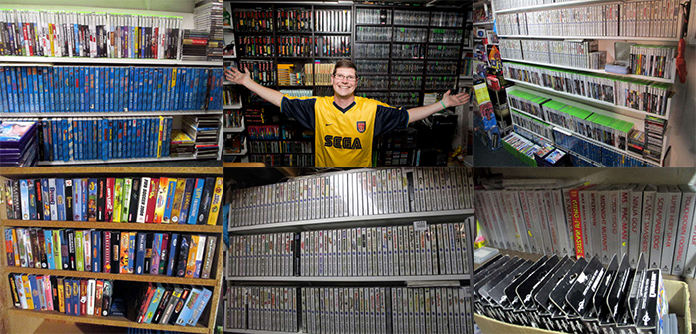collection record jeux video