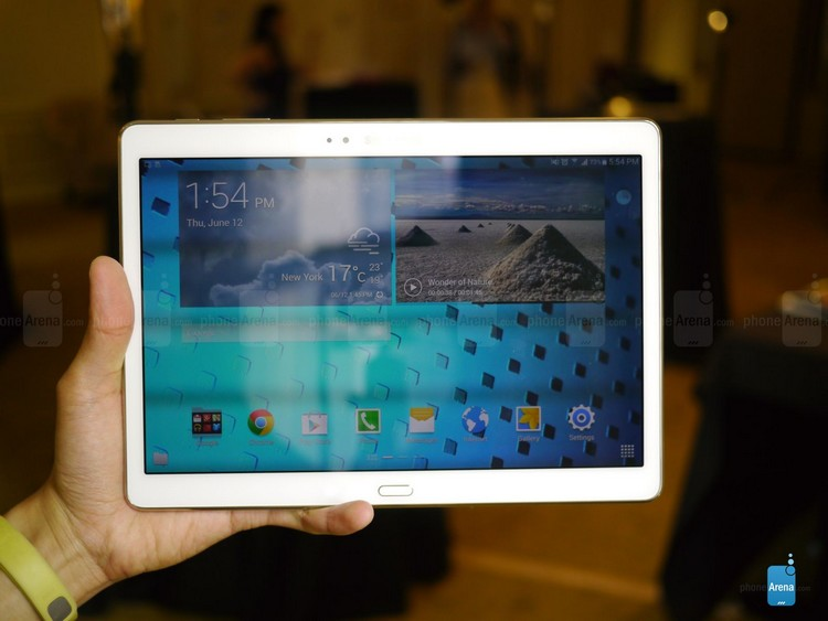 Samsung Galaxy Tab S 10.5 hands on
