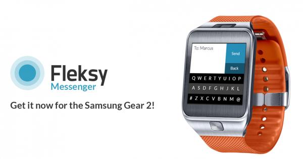 fleksy messenger sur gear 2 taper un sms sur sa montre n 39 est plus impossible. Black Bedroom Furniture Sets. Home Design Ideas