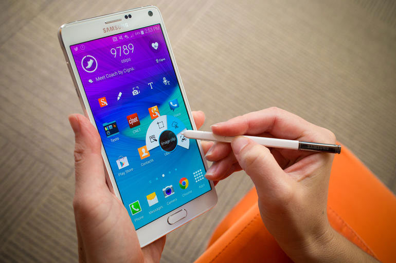 Samsung Galaxy Note 4 batterie amovible