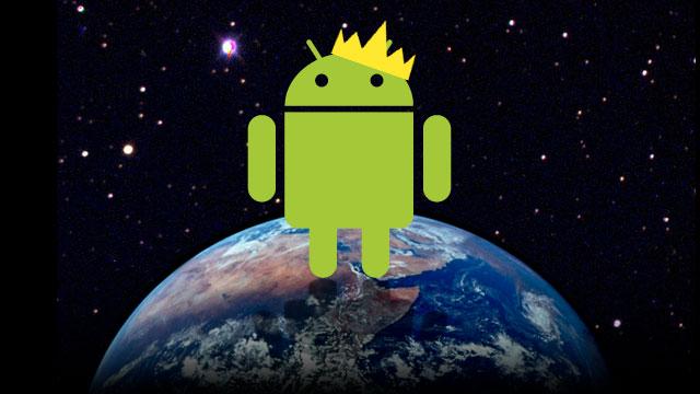 Android 85 Part de Marché Q2 2014