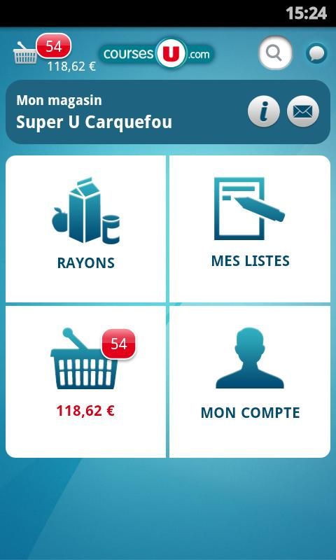 CoursesU sur Android : Screenshots 1