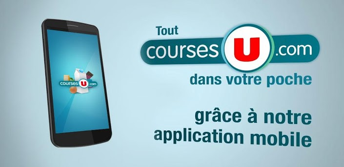 CoursesU : l'application sur Android