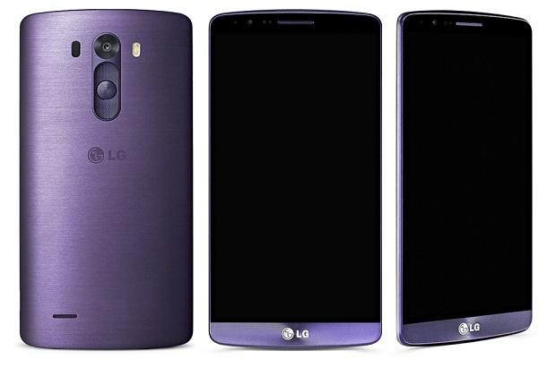 LG G3 violet