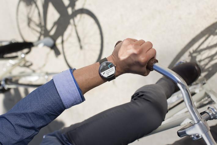 Moto 360 design : durée de vie d'une smartwatch