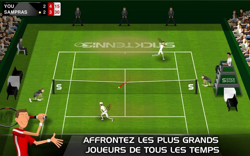 Smash Tennis 3D : meilleurs jeux de tennis sur Android