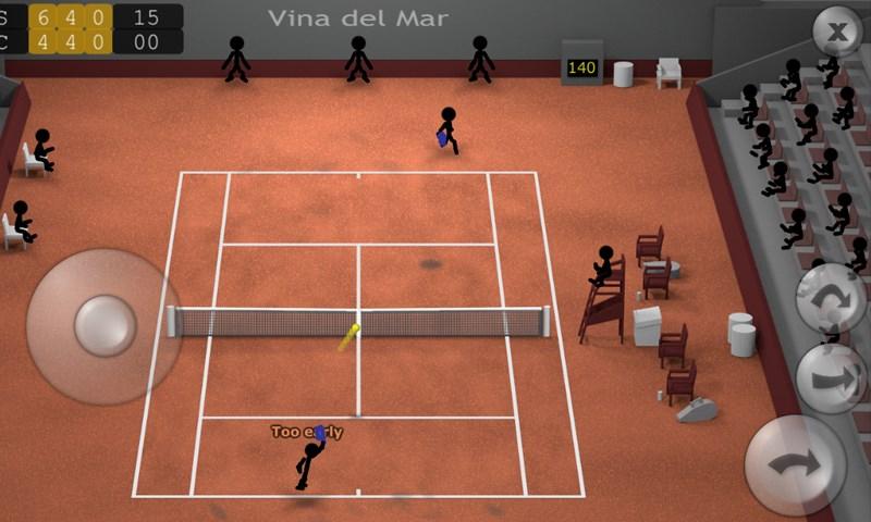 Stickman Tennis : meilleurs jeux de tennis sur Android