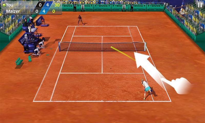 Tennis 3D : meilleurs jeux de tennis sur Android