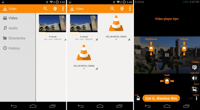 VLC : une application Android open source