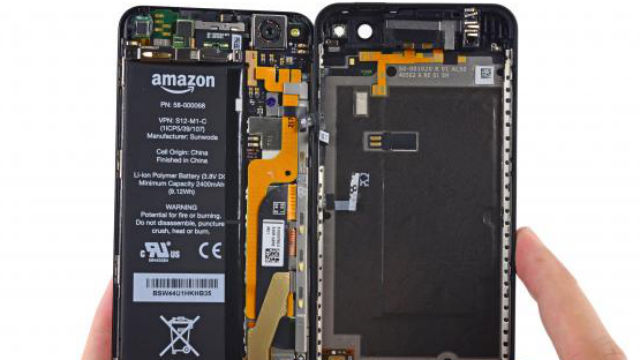 Amazon Fire Phone démontage