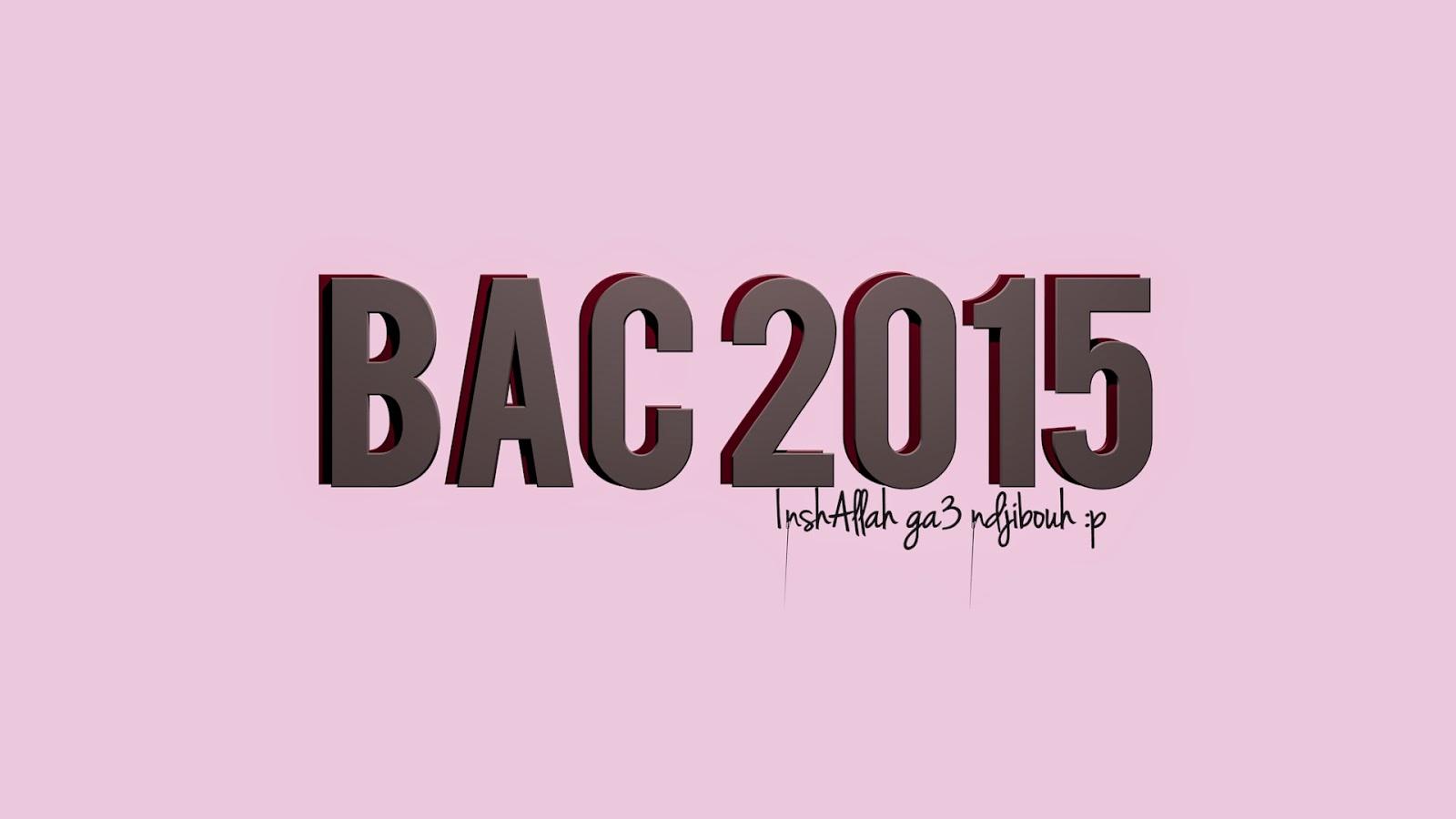 Bac 2015
