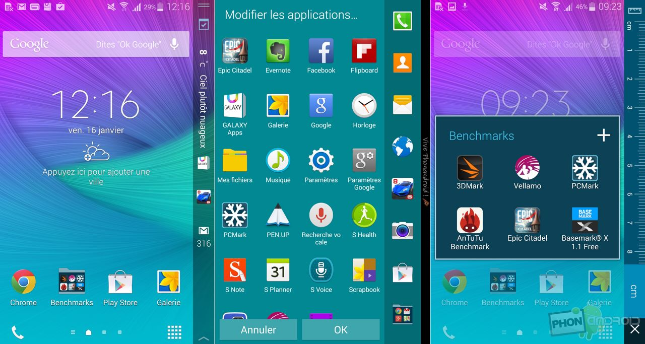 comment prendre capture ecran android