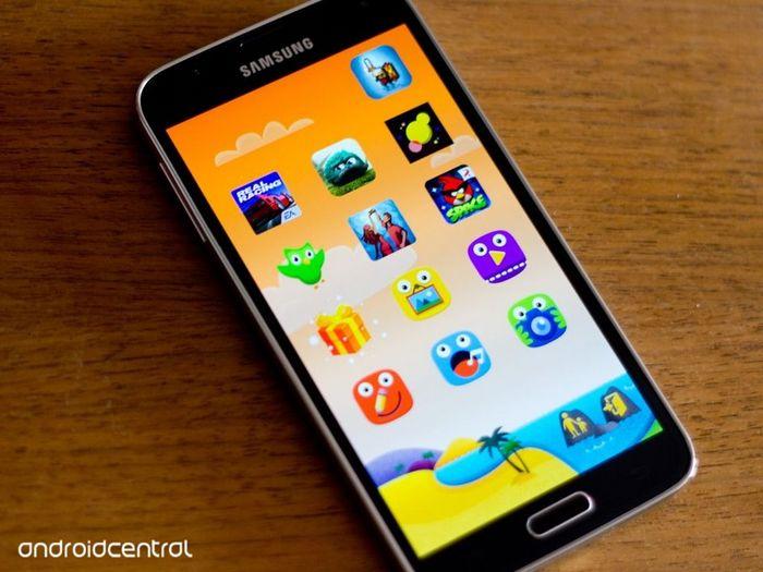 Galaxy S5 Kids Mode
