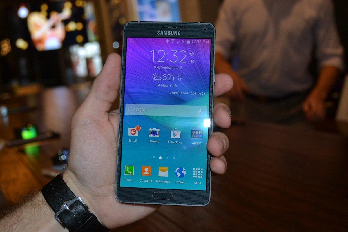 Galaxy Note 4 capteur UV