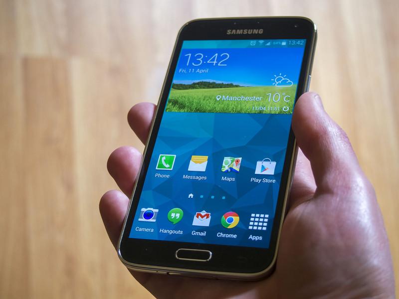 les applications du Galaxy S5 sont déjà téléchargeable !