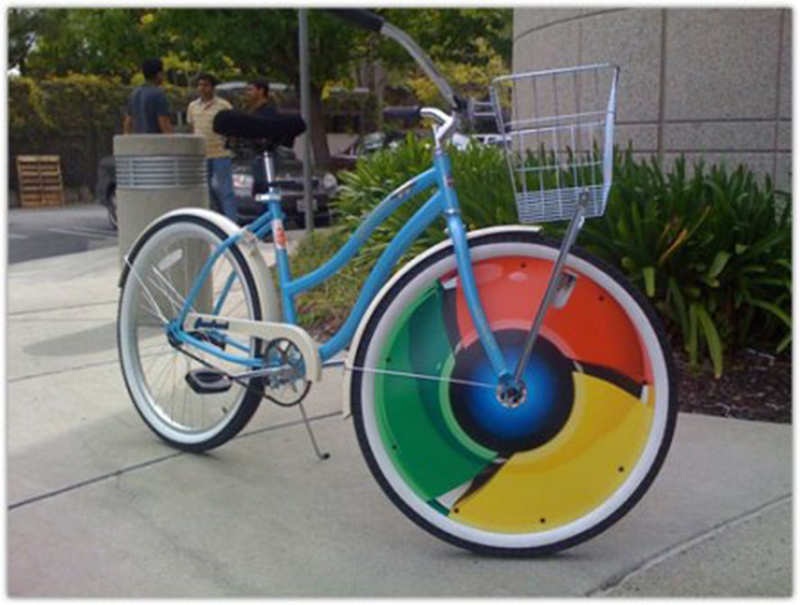 google maps cyclistes