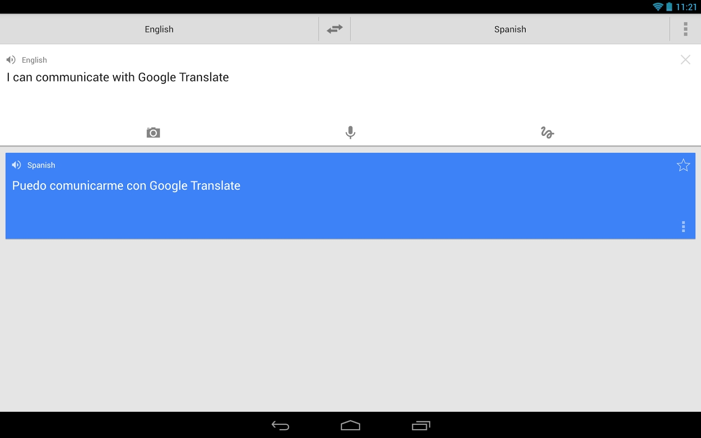 google traduction