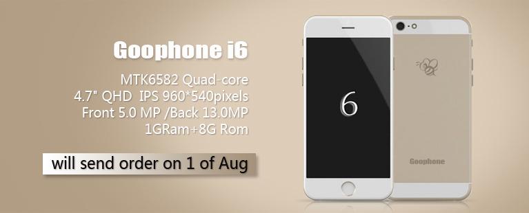 goophone i6 iphone 6 clone