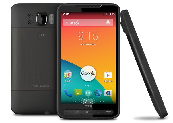 HTC HD2 Android KitKat
