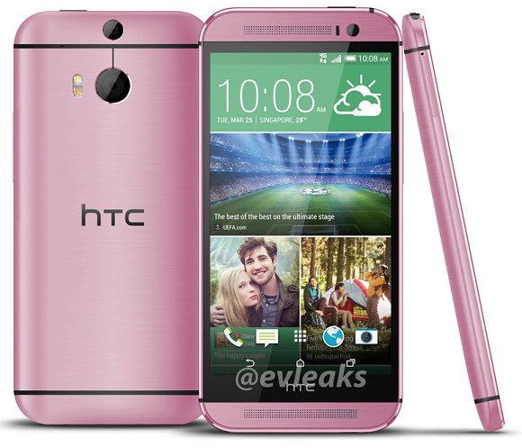 HTC One M8 rose