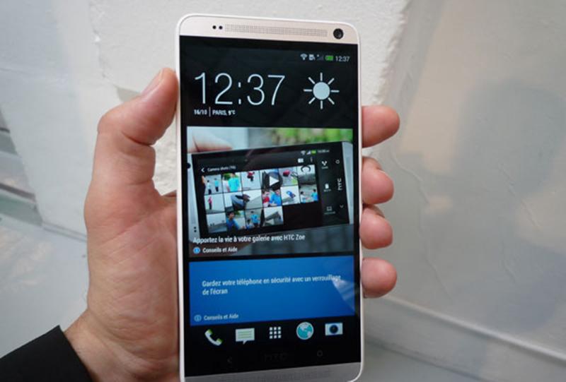 Mise à jour HTC Sense 6.0 du HTC One Max