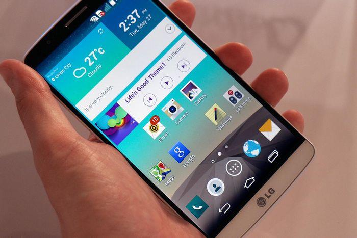 mise à jour LG G3